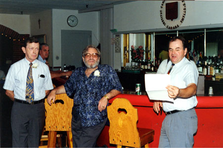 Bruce Waters, Chuck Dowsing, Art Barrett